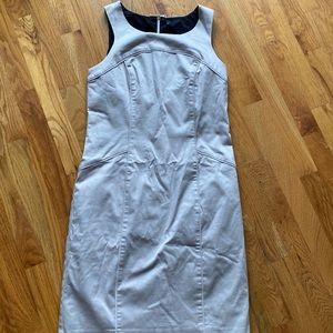 Marc New York Sleevess Khaki Sheath Dress